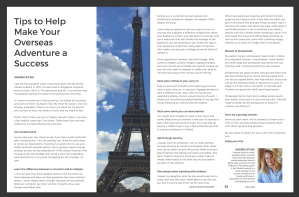 Love of Dixie Magazine Travel Tips from Andrea Stunz