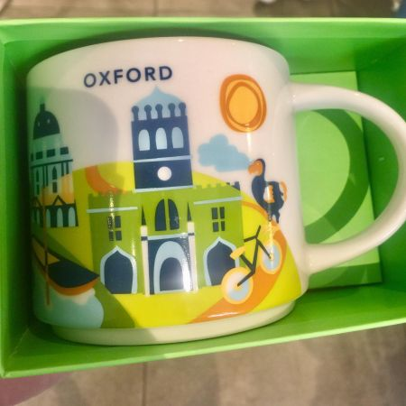 Oxford Starbucks Mug Souvenir
